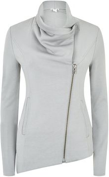 Helmut Lang Villous Zip Up Sweatshirt - Lyst