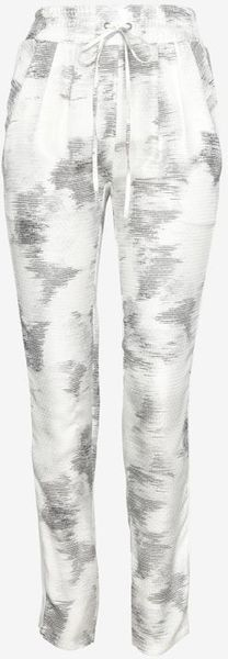 Iro Pleated Silk Inset Print Pant - Lyst