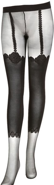 La Perla Lycra Stockings - Lyst