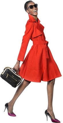 Lanvin Textured Techno Duchesse Trench Coat - Lyst