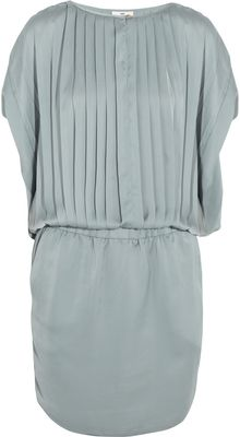 Day Birger Et Mikkelsen Pleated Satin Dress - Lyst