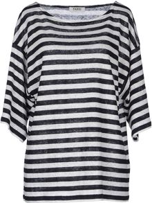 Farhi By Nicole Farhi Short Sleeve Sweater - Lyst