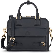 Loewe Cruz Small Leather Satchel Bag Black - Lyst