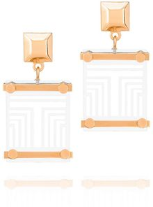 Tory Burch Maja Drop Earring - Lyst
