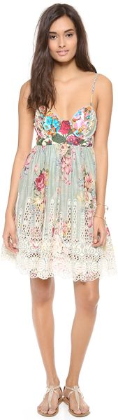 Zimmermann Sundance Embroidered Cover Up Dress - Lyst