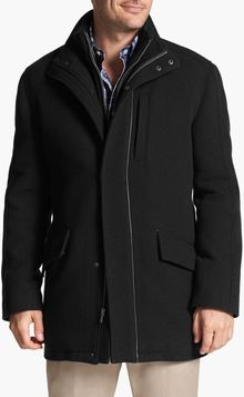 Cole Haan Italian Wool Car Coat - Lyst
