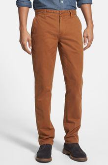 Obey Working Man Ii Straight Leg Chinos - Lyst