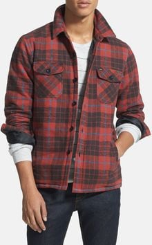 Obey Outbound Plaid Flannel Jacket - Lyst