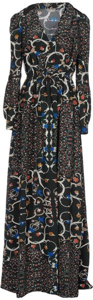 Peter Som Long Dress - Lyst