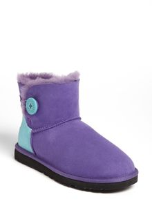 Ugg Mini Bailey Button Neon Boot - Lyst