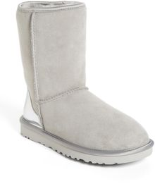 Ugg Classic Short Metallic Patent Boot - Lyst