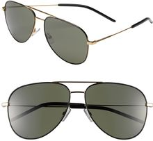 Saint Laurent 29mm Aviator Sunglasses - Lyst