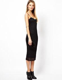 Asos Lace Cami Dress - Lyst