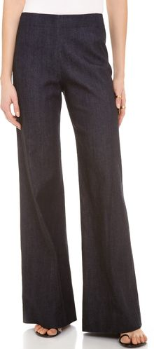 Donna Karan New York High Waist Wide Leg Pants - Lyst