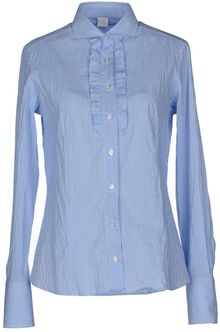 Fay Long Sleeve Shirt - Lyst