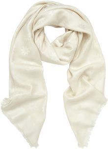 Mulberry Monogram Block Coloured Scarf - Lyst