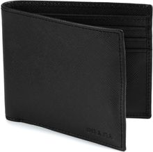 Prada Saffiano Leather Bifold Wallet - Lyst