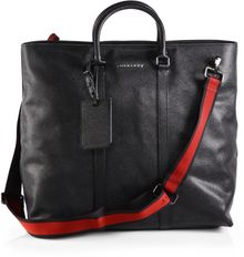 Burberry Eastnourne Leather Tote - Lyst