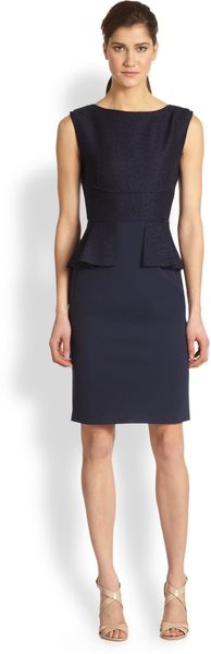 Elie Tahari Maura Dress - Lyst