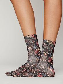 Free People Bouquet Ankle Sock - Lyst