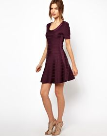 French Connection Spotlight Chopin Dress with Full Skirt - Lyst