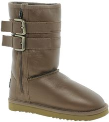 Love From Australia Nappa Short Biker Boots - Lyst