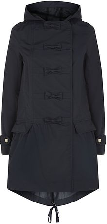RED Valentino Bow Button Parka - Lyst