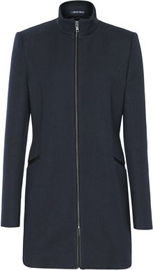 Reiss Calais Funnel Neck Coat - Lyst