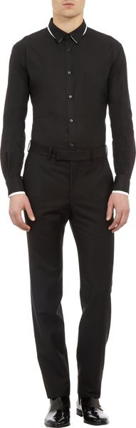 Alexander McQueen Double Collar and Cuffs Shirt - Lyst