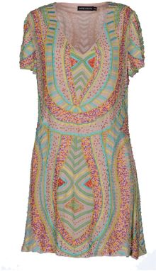Antik Batik Short Dress - Lyst