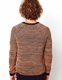 Asos Twisted Yarn Jumper - Lyst
