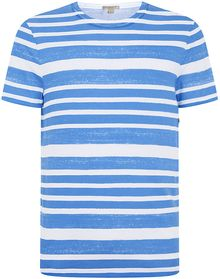 Burberry Brit Printed Stripe Tshirt - Lyst
