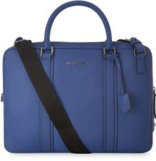Burberry Leather Cross Body Briefcase - Lyst