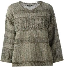 Isabel Marant Striped Top - Lyst