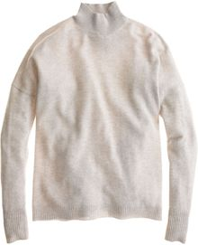 J.Crew Collection Cashmere Mock-neck Sweater - Lyst