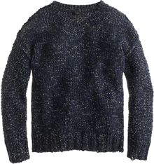 J.Crew Marled Drop-shoulder Sweater - Lyst