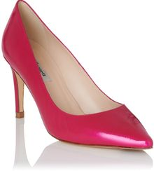 LK Bennett Floret Patent Leather Court Shoes - Lyst