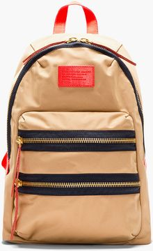 Marc By Marc Jacobs Khaki and Red Domo Arigato Packrat Backpack - Lyst
