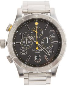 Nixon Chronograph Watch - Lyst