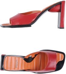 Pollini Highheeled Sandals - Lyst