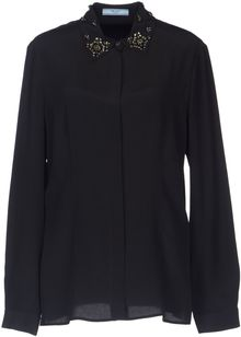 Prada Long Sleeve Shirt - Lyst