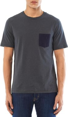 Rag & Bone Combo Pocket Tshirt - Lyst