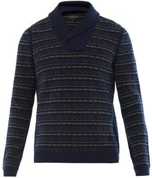 Rag & Bone Patrick Shawl Collar Sweater - Lyst