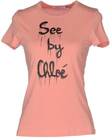 See By Chloé Short Sleeve Tshirt - Lyst