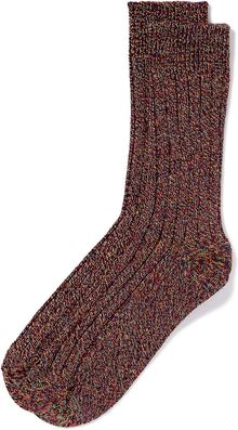 Topman Red Twist Boot Socks - Lyst