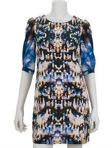 Twelfth Street by Cynthia Vincent Short Sleeve Dress - Lyst
