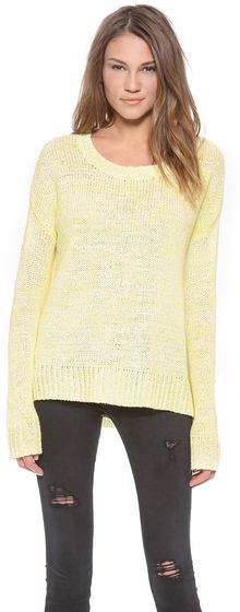 Velvet Carolyn Marled Sweater - Lyst