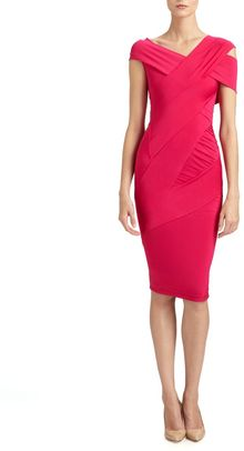 Donna Karan New York Banded Dress - Lyst