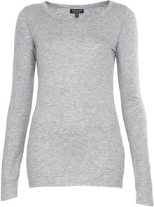 Topshop Long Sleeve Layering Tee - Lyst
