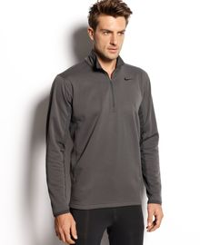 Nike Half Zip Sphere Pull Over - Lyst